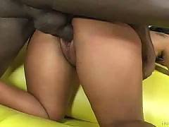 Sweet Ebony Pussy Overflowing With Cum, Black Creampie Action, The Hottest Ebony Girls Getting Covered With Cum